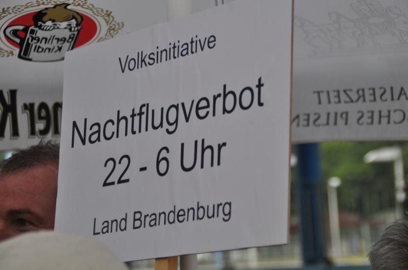 Volksinitiative Nachtflugverbot Schoenefeld
