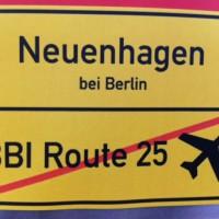 """Fluglärm in Neuenhagen durch neue Flugroute """"Müggelsee"""" des BBI Flughafen in Schönefeld?"""