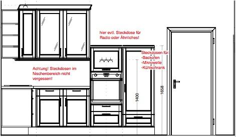 Ansicht Küche rechts