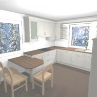 Unsere Landhausküche – Nobilia Lucca in Magnolia