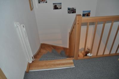 Treppengitter mit Wandbefestigung un Montage