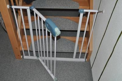 Treppenschutzgitter mit Tür Für Baby und Kleinkind