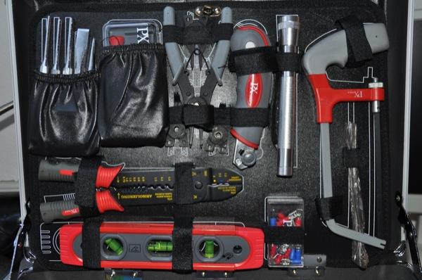 Werkzeugkoffer: Komplette Werkzeug-Ausstattung