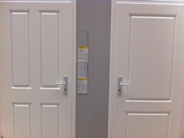 Prüm Tür: Classic CK4 und C2 in weisslack