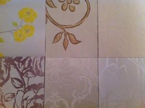 Vlies-Tapete - diverse Muster und Blumen
