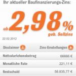 Interhyp: Baufinanzierung im Vergleich als iPhone-App