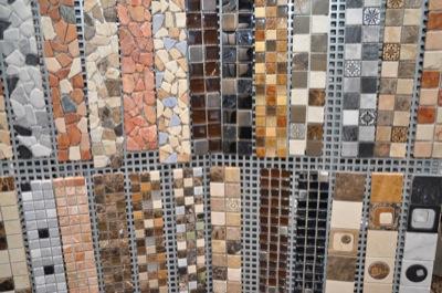 Riesen Auswahl an Mosaik-Fliesen