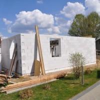 Aktuelle Bilder vom Hausbau – Erdgeschoss fast fertig