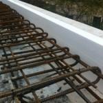 Befestigung der Decke mit dem Mauerwerk