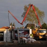 12 m³ Beton – So wird die Decke gegossen