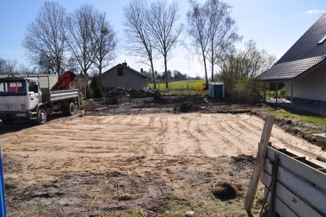 Fundament Verdichtung Mit Kies Fur Die Bodenplatte Hausbau Blog