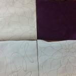 Vliestapete - Bemusterung der Tapete