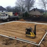 Regen auf der Baustelle? Den Hausbau kann nichts stoppen!