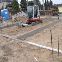 Bodenplatte – Vorbereitung Fundament und Anschlüsse