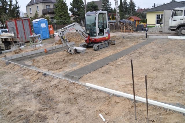 Bodenplatte Vorbereitung Fundament Und Anschlusse Hausbau Blog
