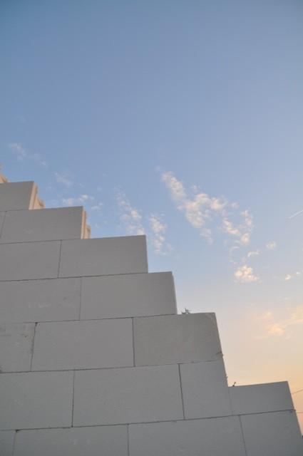 Himmelspforte - Hausbau im Obergeschoss
