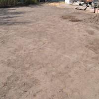 Rasen-Neuanlage – Boden plätten, walzen, setzen lassen