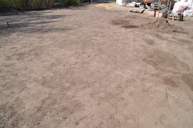 Rasen Neuanlage Boden Platten Walzen Setzen Lassen Hausbau Blog