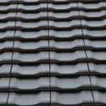 Dachziegel auf unserem Einfamilienhaus