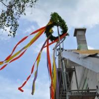 Unser Richtfest samt Dachkasten, Elektrik, Fenster und Jalousien