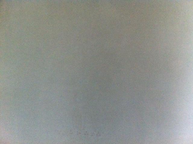 Glatte Wand nach dem Innenputz