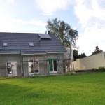 Aussenansicht unseres Einfamilienhaus im Hausbau-Blog