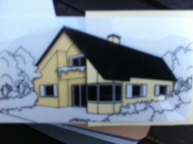 Musterschablone - Aussenputz für unsere Haus-Fassade