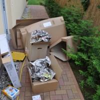 Wohnung gekündigt, Dachboden ausgerümpelt, Estrich trocknet