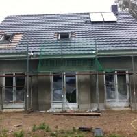 Bautagebuch: Aussenputz, Innenputz, Trockenbau und Elektrik