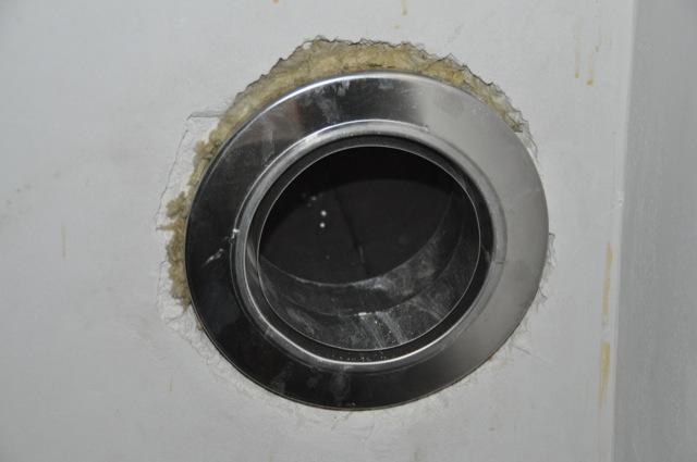 Anschluss-Rohr für den Kaminofen
