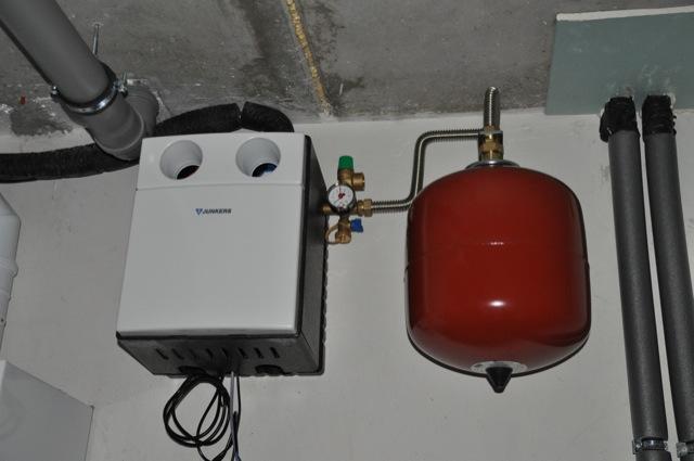 Haustechnik für die Gas-Therme
