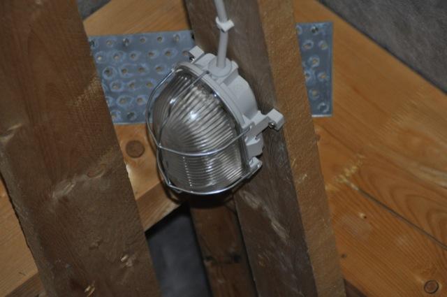 Licht - Lampen für den Dachboden