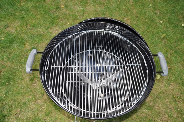 Grillrost und Gitter des Weber-Grill