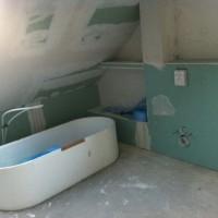 Trockenwand & Spots – Bad-Ausbau geht weiter