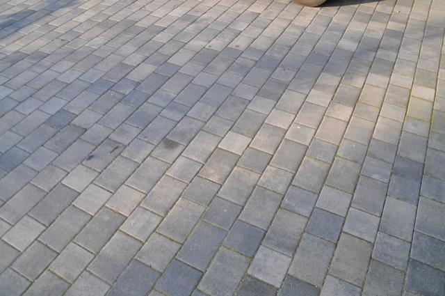 pflasterarbeiten beim hausbau mit tegula plan von berding