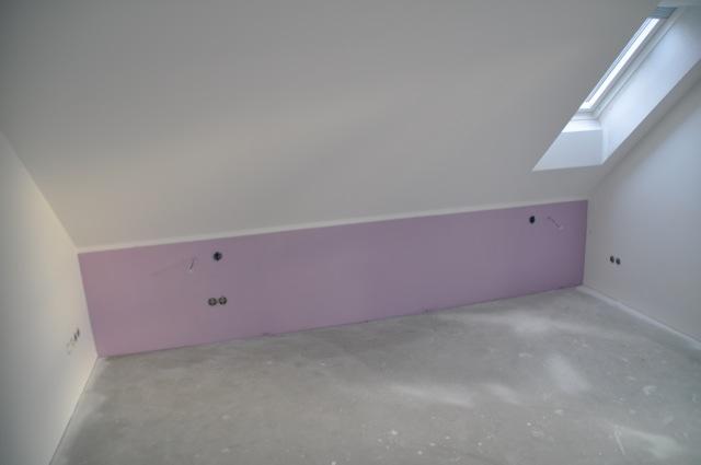 Ein wenig Lila-Farbe fürs Schlafzimmer