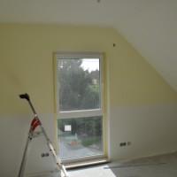 Malerarbeiten – Eigenleistung beim Hausbau