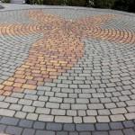 Musterpark für Pflastersteine in Rüdersdorf bei Berding-Beton