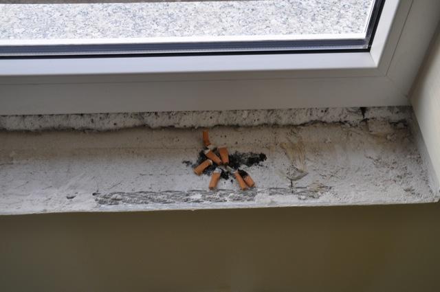 Dürfen Bauarbeiter im Haus rauchen?