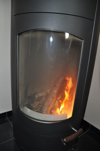 Rauchentwicklung ohne Abzug -  Holz brennt nicht an