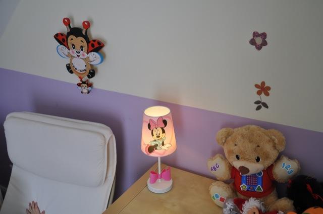 Minimaus - Nachttischlampe für Mädchen