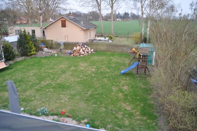 Rasenpflege im Frühling - So sah der Rasen im März aus