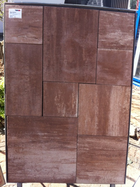 Miami Skyline mokka creme Terrassenplatten