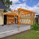 Planung - Terrassenüberdachung selber bauen