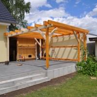 Planung Terrassenüberdachung & Carport zum selber bauen