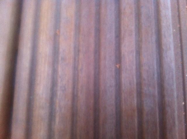 Terrassenplatten aus Holz - Bangkirai