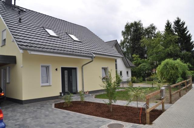 Unsere Neubau-Immobilie - erbaut in Eigenregie statt vom Bauträger