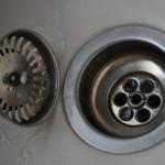 Waschbecken-Abfluss in der Küche