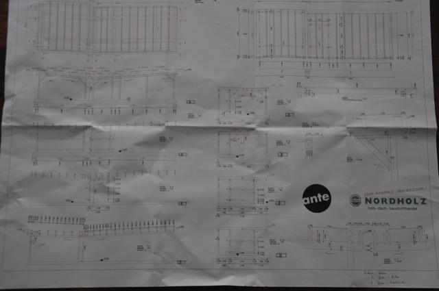 Carport-Anleitung - Bauanleitung & Zeichnung