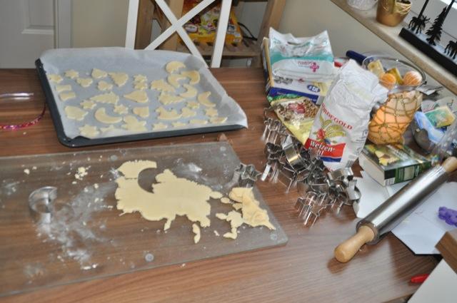Backen am Küchentisch